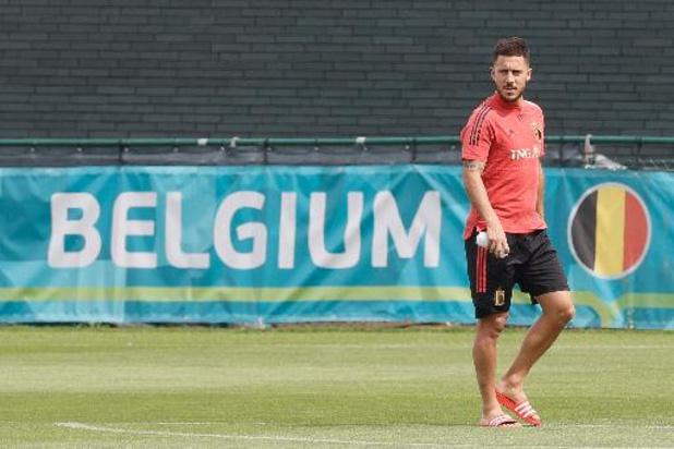 """Hazard openhartig over toekomst: """"Tot na Qatar bij Rode Duivels. Daarna weet ik het niet"""""""