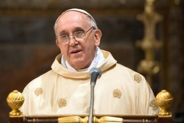 Paus Franciscus ziet dit jaar af van buitenlandse reizen