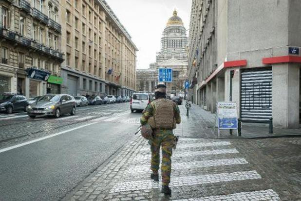 Militair zwaargewond bij schietincident in Brussel