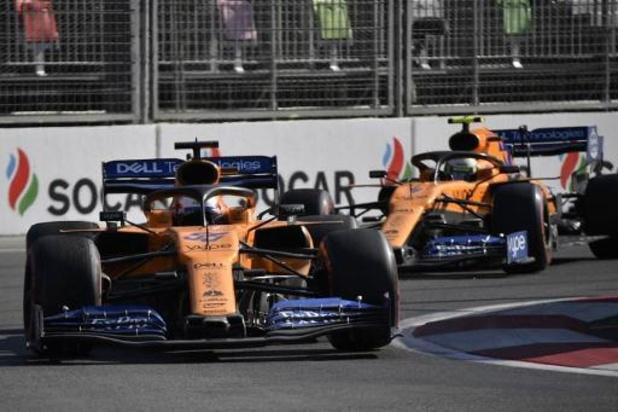 F1-piloten McLaren leveren deel salaris in, personeel op verlof