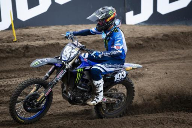 Jago Geerts (Yamaha) remporte le GP de Trente en MX2, sa 5e victoire cette saison