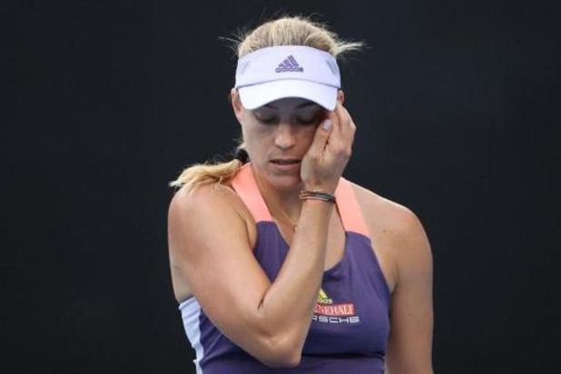 Roland-Garros - Angelique Kerber perd encore au 1er tour