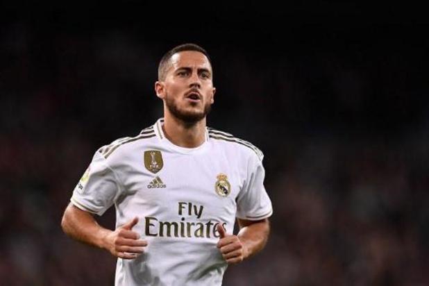 Belgen in het buitenland - Real Madrid kan niet winnen van Betis na afgekeurd doelpunt van Hazard