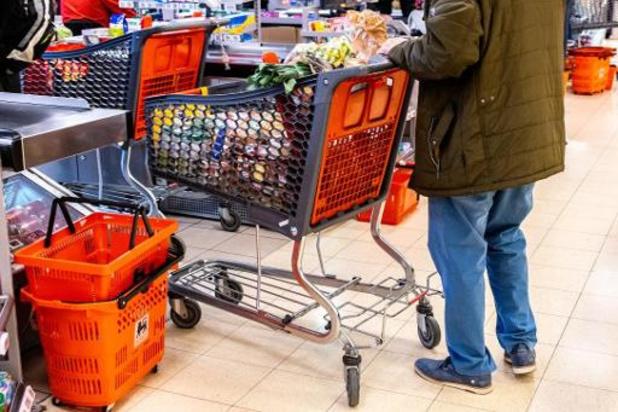 Les supermarchés belges ont vendu pour un demi milliard d'euros supplémentaire depuis le début de la crise du coronavirus