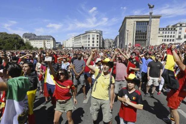 Gent voorziet groot scherm voor alle EK-matchen van Rode Duivels