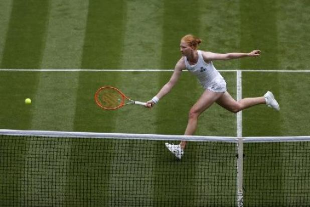 Wimbledon - Alison Van Uytvanck et Greet Minnen en double