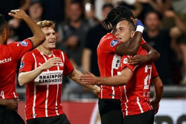 Les Belges à l'étranger - Le PSV corrige l'Ajax avec notamment un but de Vertessen en Supercoupe