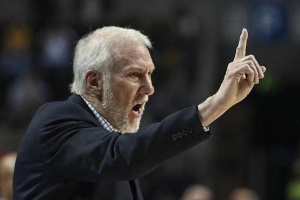 """Les USA sont """"en danger à cause du racisme"""", déplore le coach de basket Greg Popovich"""