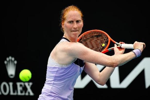 WTA Madrid: Van Uytvanck sneuvelt ondanks wervelende openingsset in kwalificaties