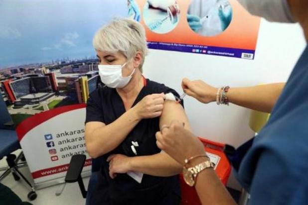 La Turquie lance sa campagne de vaccination