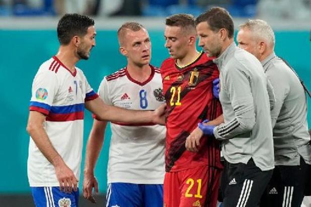 Euro 2020 - Opération et fin de l'Euro pour Timothy Castagne