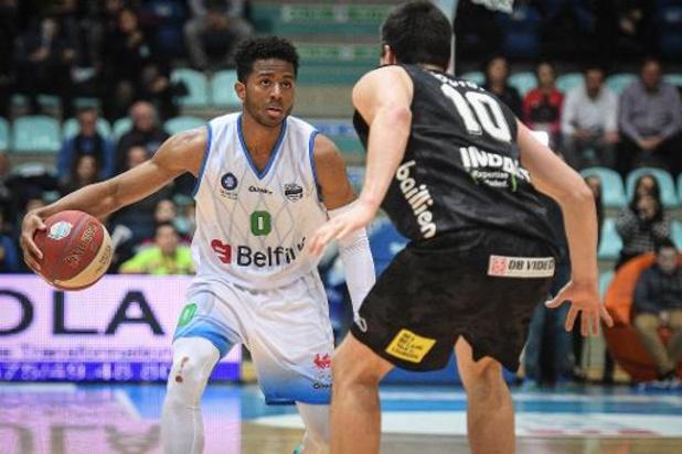 Euromillions Basket League - Mons garde la tête de justesse, Liège explose face au Brussels