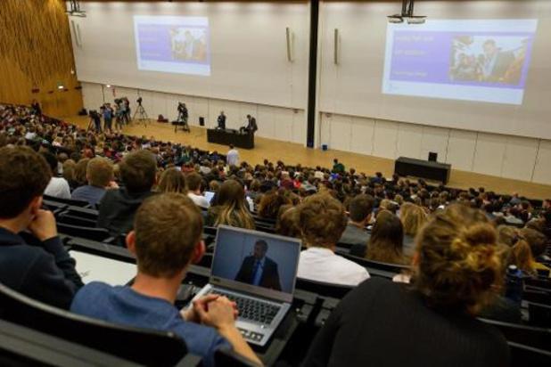 Universiteiten gaan milder delibereren