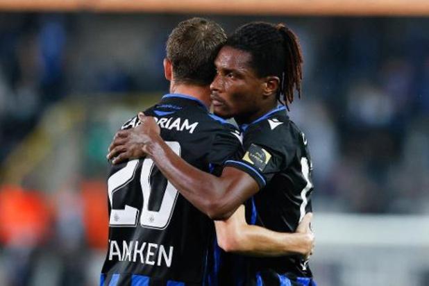 Jupiler Pro League - Club Brugge wint derby tegen Cercle en springt naar tweede plaats