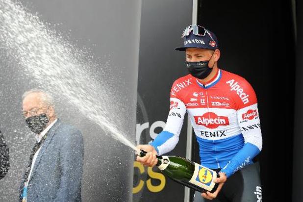 Mathieu van der Poel gagne aussi la 3e étape et s'empare du maillot jaune
