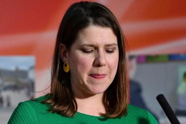 Leider van Liberal Democrats stapt op na verlies van haar zetel