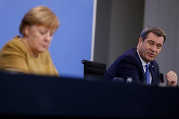 Coronavirus - L'Allemagne prolonge ses restrictions jusqu'à début janvier (Angela Merkel) -2