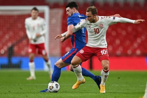 Ligue des Nations - Le Danemark rend la première place aux Diables en s'imposant à Wembley