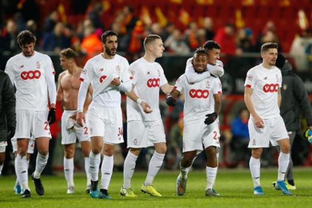 Le Standard doit confirmer contre Ostende, Charleroi/Malines match capital pour le top-6