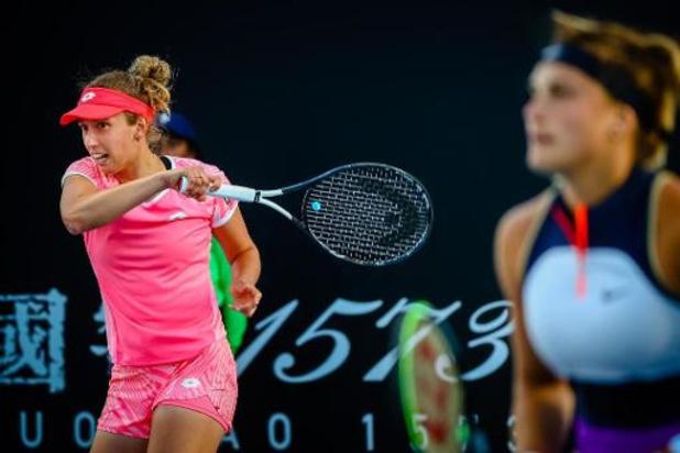 """Mertens vise désormais le titre en double: """"J'ai tout de même produit du beau tennis"""""""