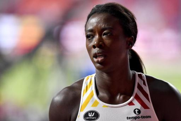 WK atletiek - Anne Zagré komt ten val in halve finales 100m horden