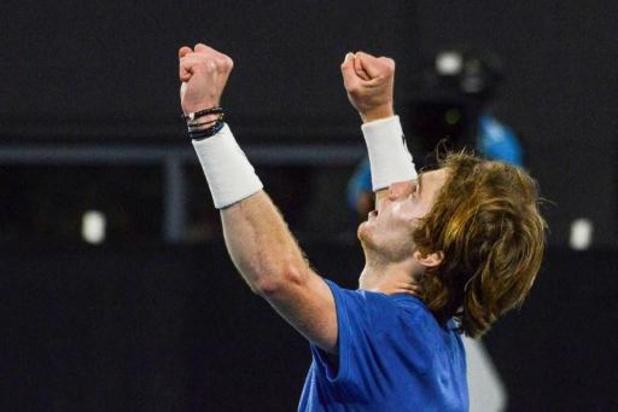 Second titre d'affilée pour Andrey Rublev, invaincu en 2020