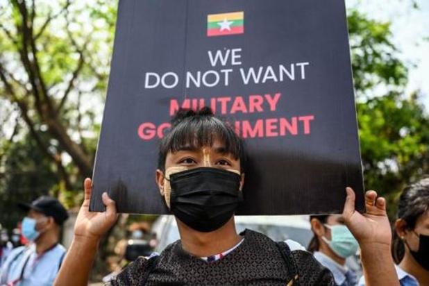 Londen legt chef van militaire junta Myanmar sancties op