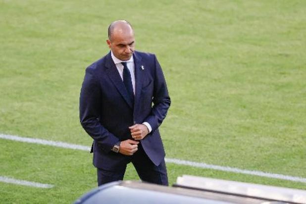 """Axel Witsel sera dans les 26"", a assuré Roberto Martinez"