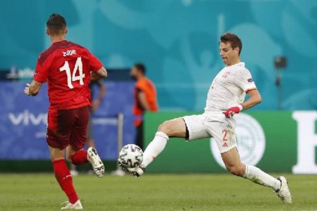 Zwitserland en Spanje houden elkaar na 90 minuten in evenwicht