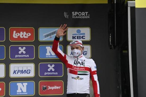 """Tour des Flandres - Kristoff content d'avoir complété le podium: """"Van der Poel et Van Aert trop forts"""""""