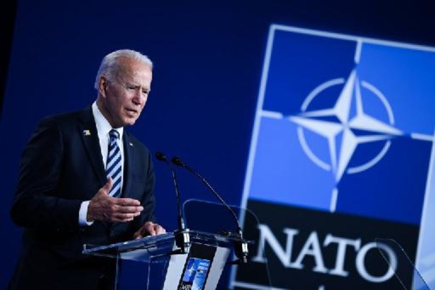 """Solmmet de l'Otan - Joe Biden promet de dire à Vladimir Poutine quelles sont ses """"lignes rouges"""""""