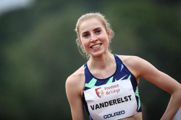 Elise Vanderelst visera la demi-finale olympique du 1.500 mètres