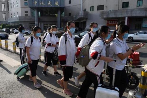 Drie nieuwe coronagevallen in Peking na twee maanden zonder besmetting