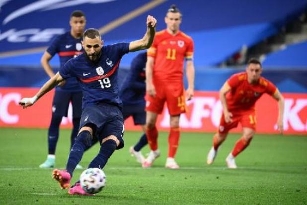 Euro 2020 - La France s'impose pour le retour de Karim Benzema, l'Angleterre écarte l'Autriche