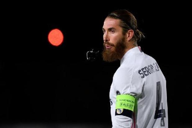 Geblesseerde Ramos (Real Madrid) loopt nu ook coronabesmetting op