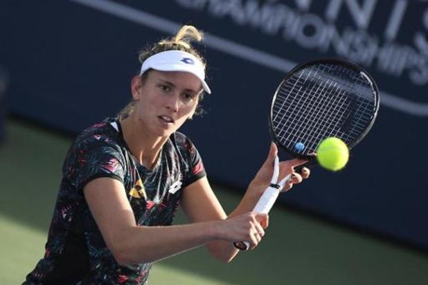 Elise Mertens, 22e, sort du top-20 du classement mondial