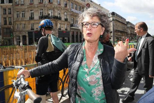 L'écologiste belge Evelyne Huytebroeck devient co-présidente du Parti vert européen