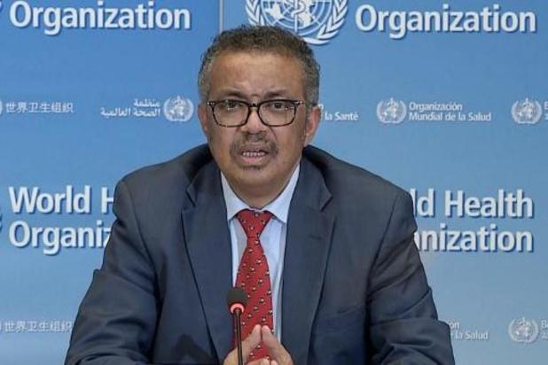 WHO-directeur somt zes voorwaarden op om maatregelen te kunnen versoepelen
