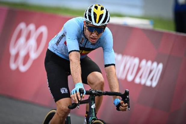Wout van Aert médaille d'argent, Richard Carapaz champion olympique