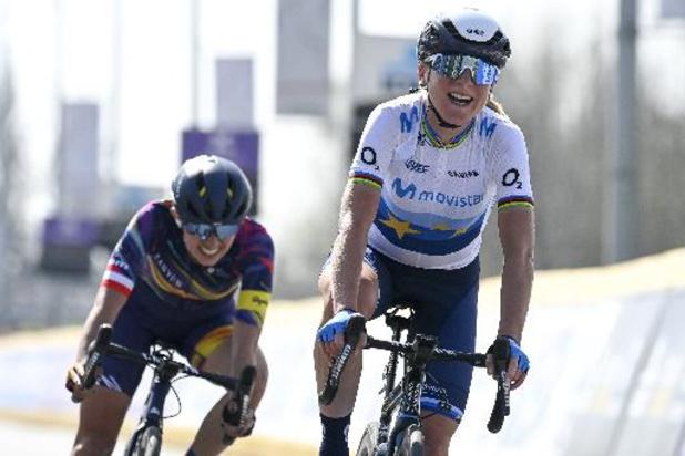 "Flèche Wallonne: Katarzyna Niewiadoma, 2e au Mur de Huy: ""Je m'incline face à la reine"""