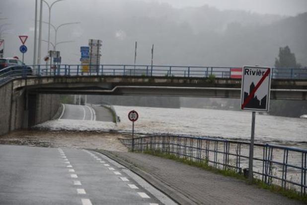 Waalse administratie roept op tot waakzaamheid vanwege voorspelde neerslag