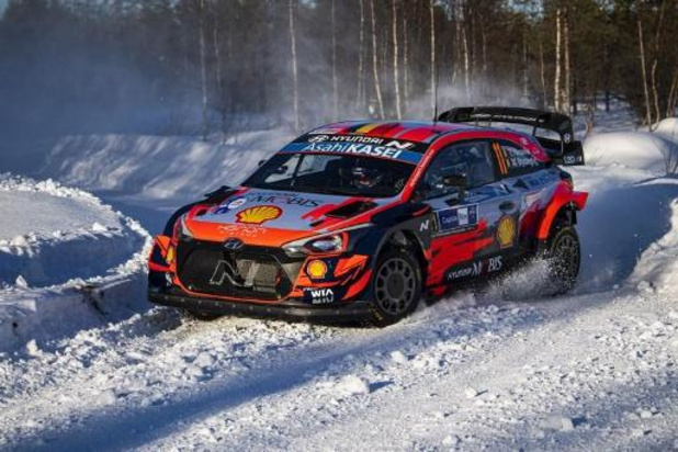 """Arctic Rally - Neuville: """"Doel is Hyundai een dubbel podium te bezorgen"""""""