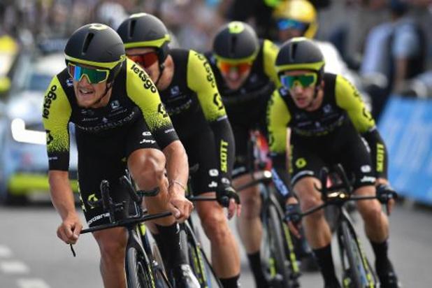 L'équipe cycliste Mitchelton-Scott devient Team Manuela Fundación
