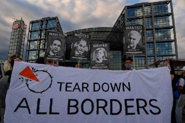 Vredesactivisten voeren actie tegen Frontex in zeven landen