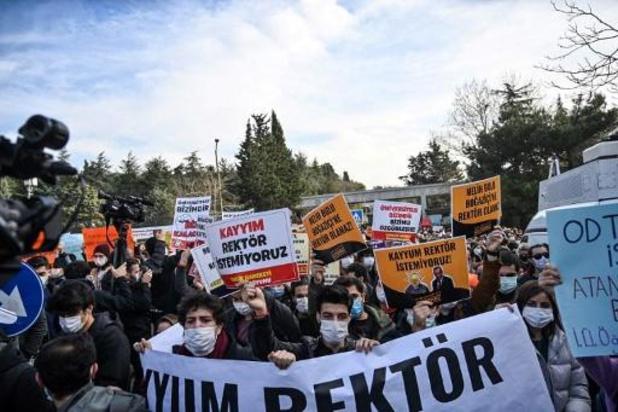 Turquie: manifestation contre la nomination d'un recteur par Erdogan