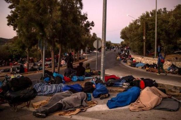 "Incendies à Moria: ""état de vigilance avancée"" dans les camps migrants en Grèce"