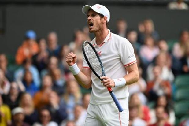 Wimbledon - Andy Murray réussit son grand retour à Wimbledon