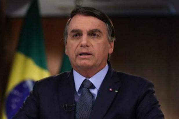 Brésil: opéré d'un calcul rénal, Bolsonaro est sorti de l'hôpital