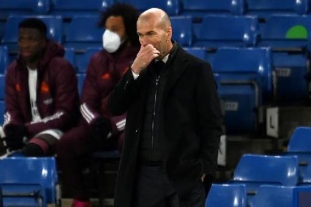 """""""Zidane op weg naar de exit bij Real"""""""