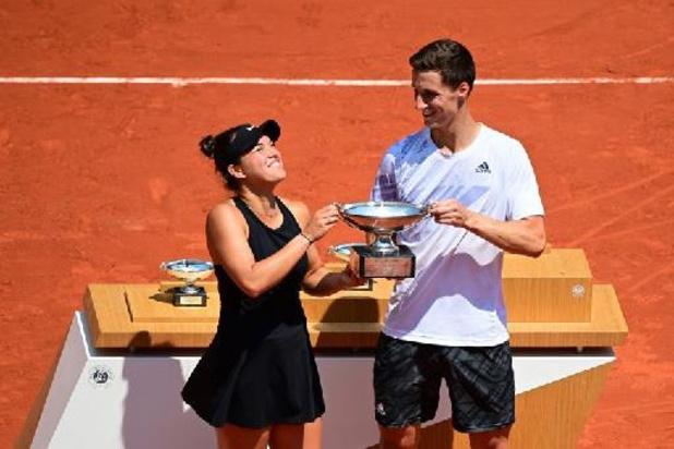 US Open - Amerikaanse Desirae Krawczyk en Brit Joe Salisbury winnen gemengd dubbel